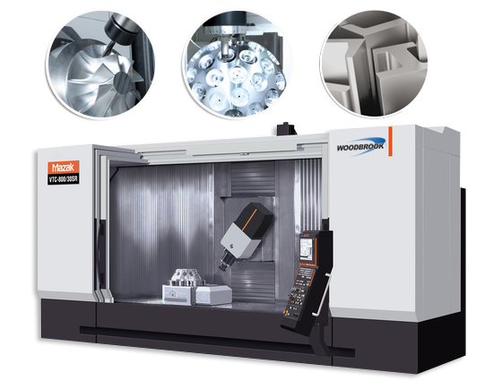 Woodbrook Precision have the latest CNC equipment and are one of the only companies within a 40 mile radius to own and operate the new to market Mazak Nexus range of advanced Precision Tool Engineering CAD machinery.